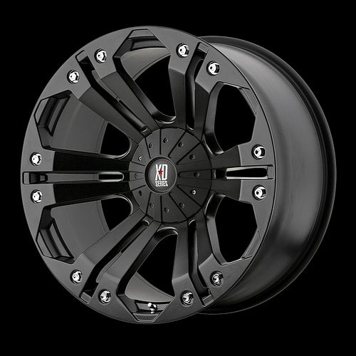 XD Monster Black 18x9 Chevy Ford Dodge GMC Jeep