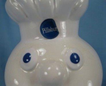 Cute The Pillsbury Dough Boy Flower Pot Planter Advertising Premium