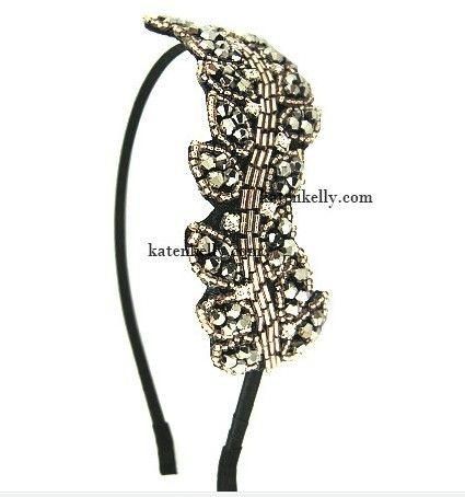 Korean Drama My Princess Crystallized Leaf Headband