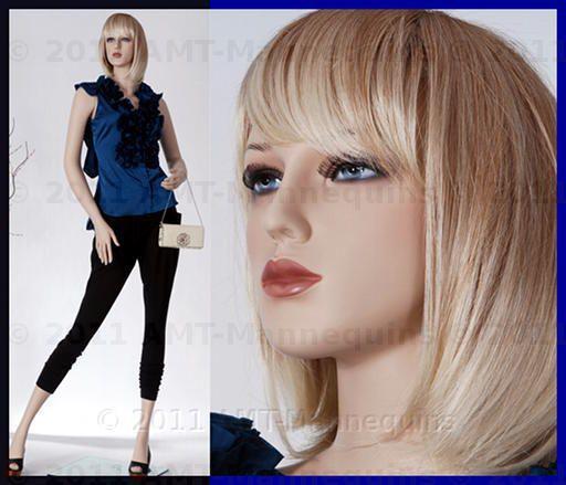 Female mannequin display dressmakers manikin   Jade +1 wig (#8)