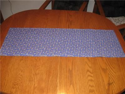 Handmade Quilted Table Runner.